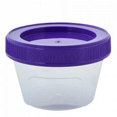 """Контейнер """"Smart Box"""" круглий 0,06л. (_пр./т.бузковий)"""