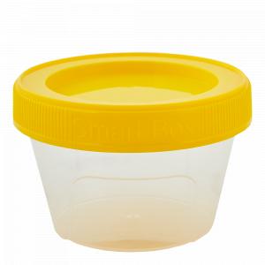"Контейнер ""Smart Box"" круглий 0,06л. (_пр./т.жовтий)"