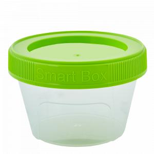 """Контейнер """"Smart Box"""" круглий 0,06л. (_пр./оливк.)"""