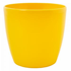 """Вазон """"Матільда""""  7* 6см. (т.жовтий)"""