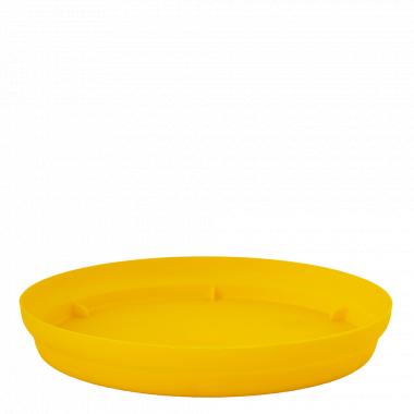 """Підставка під вазон """"Матільда"""" 20*18см. (т.жовта)"""