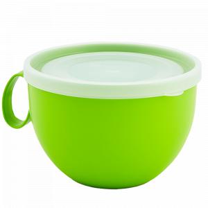 Чашка з кришкою 0,5л. (_оливк./пр.)