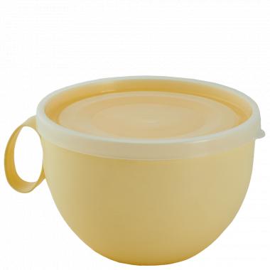 Чашка з кришкою 0,5л. (_жовта/пр.)