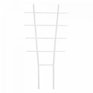 Драбинка для квітів L37см. (білий флок)
