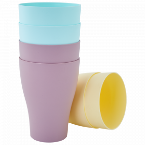 Набір стаканів 0,25л. (6 шт.) (мікс пастель)