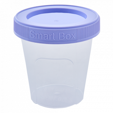 "Контейнер ""Smart Box"" круглий 0,18л. (_пр./бузк.)"