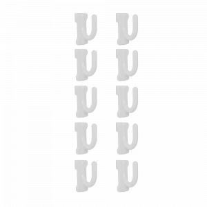 Гачок малий 12*30*30мм. (10шт.) (білий)