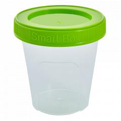 """Контейнер """"Smart Box"""" круглий 0,24л. (_пр./оливк.)"""