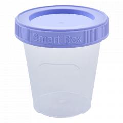 "Контейнер ""Smart Box"" круглий 0,24л. (_пр./бузк.)"