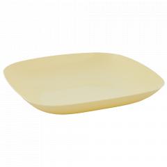 Тарілка 190*190*28мм. (жовта)