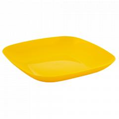 Тарілка 190*190*28мм. (т.жовта)