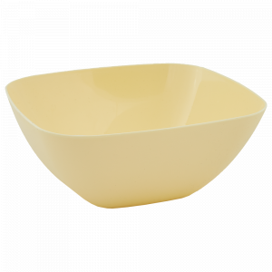 Салатниця 240*240*95мм. (жовта)