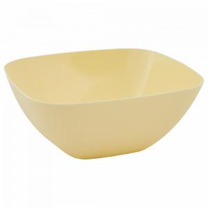 Салатниця 120*120*55мм. (жовта)