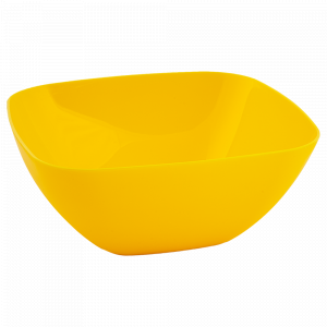 Салатниця 120*120*55мм. (т.жовта)