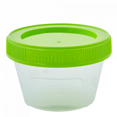 """Контейнер """"Smart Box"""" круглий 0,20л. (_пр./оливк.)"""
