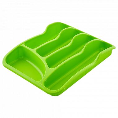 Лоток для столових приладів (оливк.)