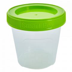 """Контейнер """"Smart Box"""" круглий 0,35л. (_пр./оливк.)"""