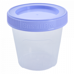"Контейнер ""Smart Box"" круглий 0,35л. (_пр./бузк.)"