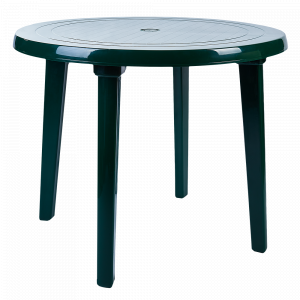 Стіл круглий (зелений)