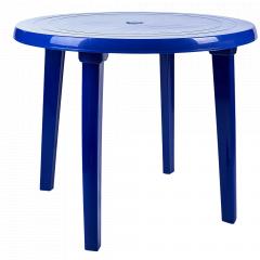 Стіл круглий (т.синій)
