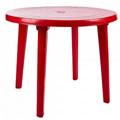 Стіл круглий (червоний)
