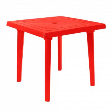 Стіл квадратний (червоний)