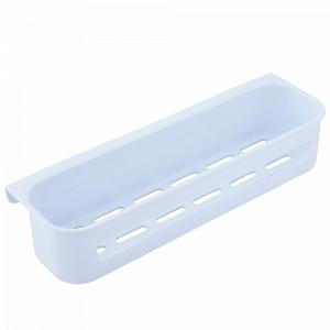 Поличка для ванної прямокутна (біла)