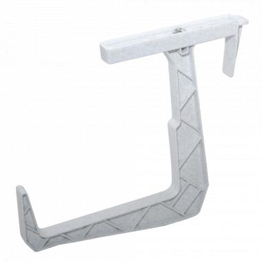 Кріплення для балконного ящика (білий флок)