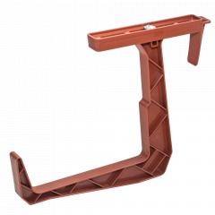 Кріплення для балконного ящика (теракот)
