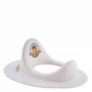 Накладка на унітаз дитяча (біла роза)