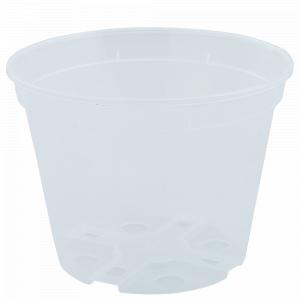 Drainage flowerpot  9,0x 6,5cm. (transparent)