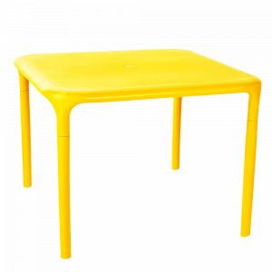 """Стіл квадратний """"Альф"""" малий (т.жовтий)"""