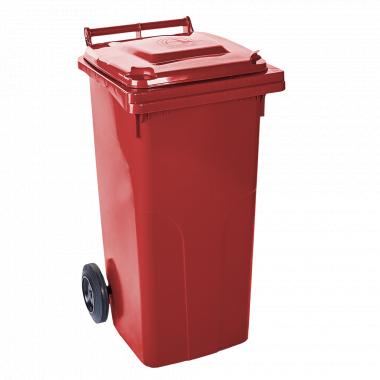 Контейнер для ТПВ 120л. (червоний)