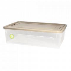 """Контейнер """"Smart Box"""" 14л. """"Practice"""" (_пр./какао/какао)"""