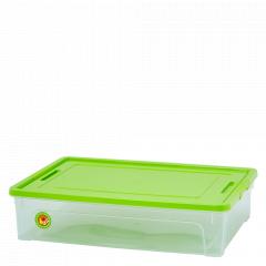 "Контейнер ""Smart Box"" 14л. ""Practice"" (_пр./оливк./оливк.)"