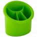 Підставка для столових приборів овальна (оливк.)