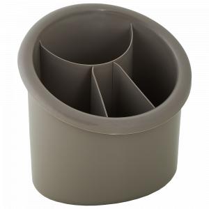 Підставка для столових приборів овальна (какао)