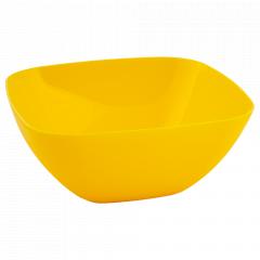 Салатниця 180*180*75мм. (т.жовта)