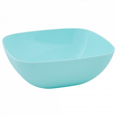 Тарілка глибока 150*150*55мм. (салат.)
