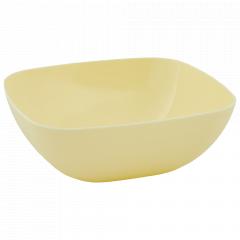 Тарілка глибока 150*150*55мм. (жовта)