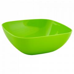 Тарілка глибока 150*150*55мм. (оливк.)