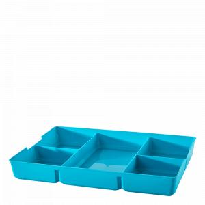 Органайзер у контейнер 5,5л. та 11,7л. (бірюзовий)