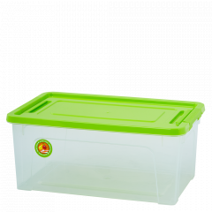 "Контейнер ""Smart Box"" 27л. ""Practice"" (_пр./оливк./оливк.)"