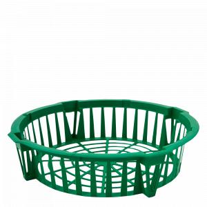 Корзина для цибулин. круг. 285*64мм. (зелена)