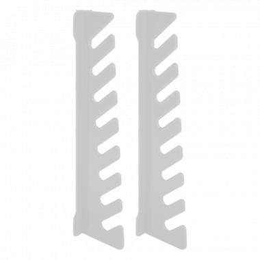 Стійка для ключів 200*25*52мм. (2шт.) (біла)