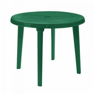 """Стіл """"Модерн"""" круглий (зелений)"""