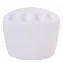 Підставка для зубних щіток (біла)